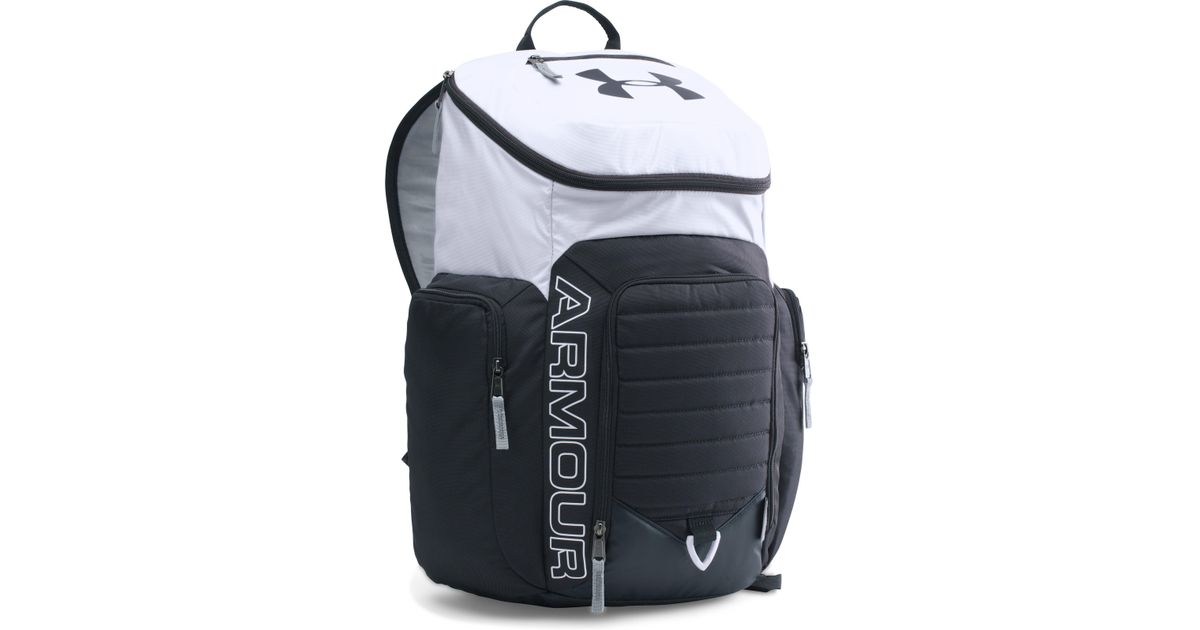 c35a6ad452 Lyst - Under Armour Ua Storm Undeniable Ii Backpack in White for Men