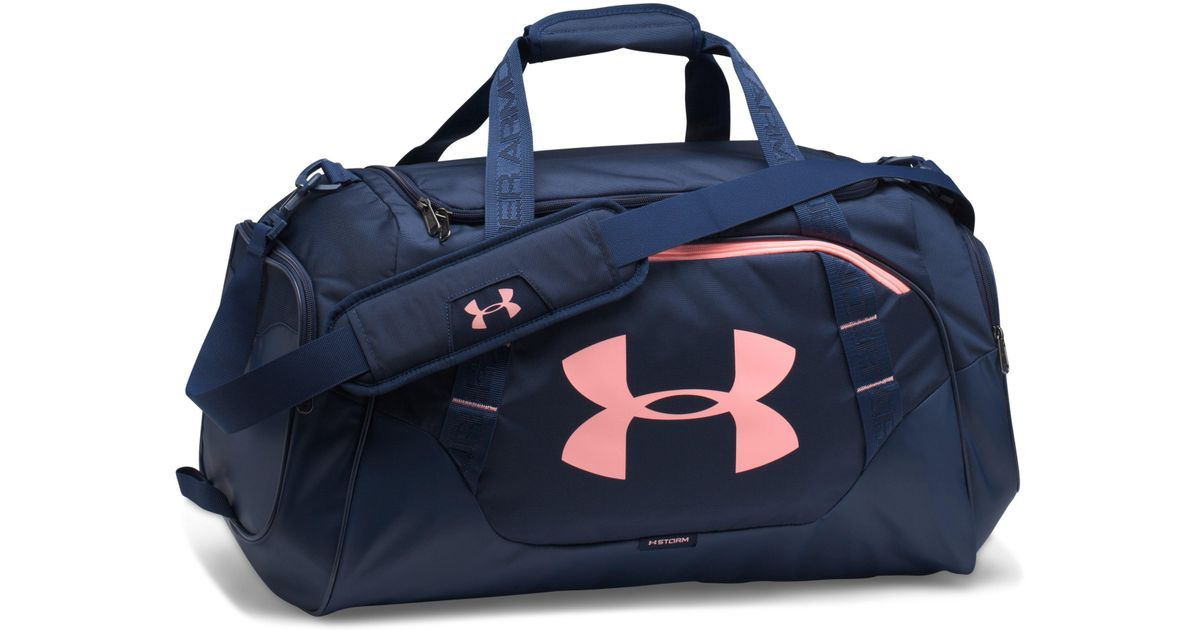 new product bbc53 45e93 Under Armour Men s Ua Undeniable 3.0 Medium Duffle Bag in Blue for Men -  Lyst