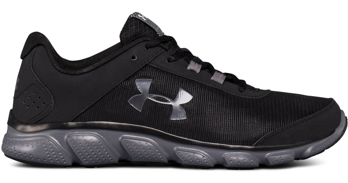 0542e8a04e Under Armour - Black Men's Ua Micro G® Assert 7 Running Shoes for Men - Lyst