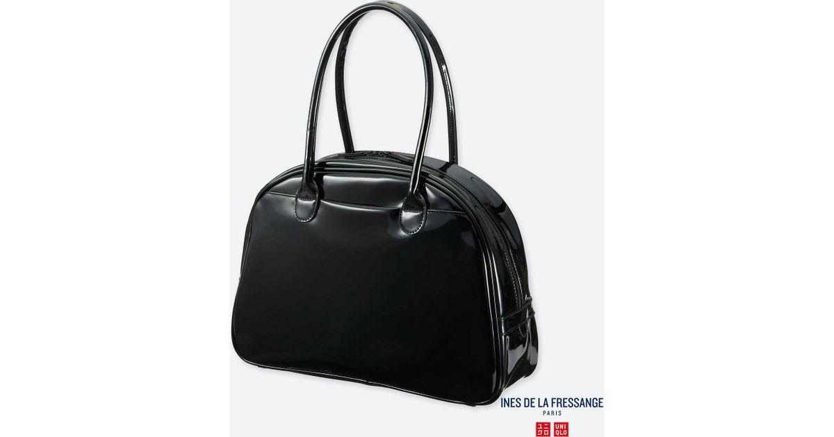 aae37b2c81 Lyst - Uniqlo Women Idlf Enamel Bag in Black