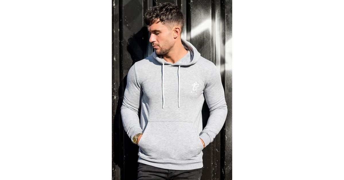 Gym King Pullover Hoodie in Gray for Men - Lyst 688ecfb0d8c9