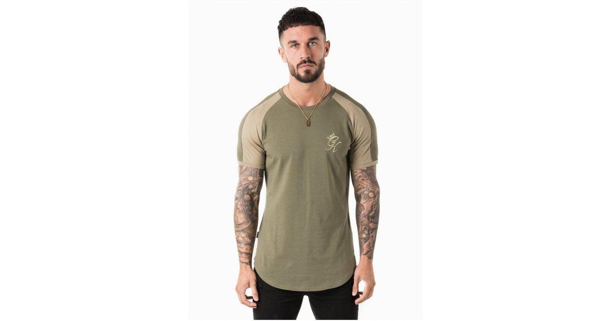 7f3b4f7a9 Gym King Longline Retro T-shirt in Green for Men - Lyst