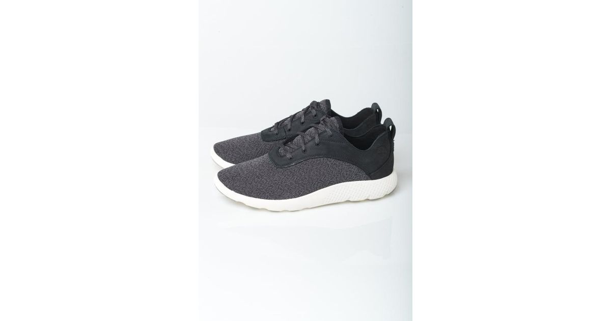 b9acf212086 Timberland Flyroam F/l Ox Trainers in Black for Men - Lyst