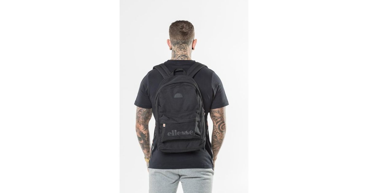 Lyst - Ellesse Regent Ii Backpack- Black Mono in Black for Men bb2b2f679edc2