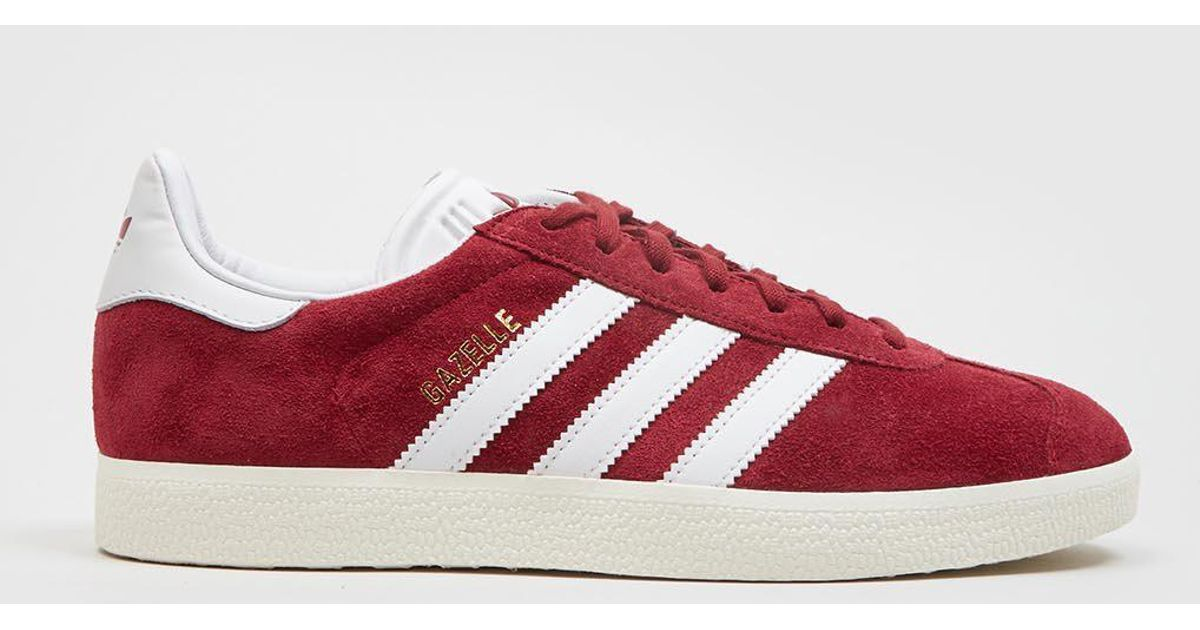 brand new e1b73 d2d20 Lyst - adidas Originals Adidas Gazelle S76220 (suede) in Red
