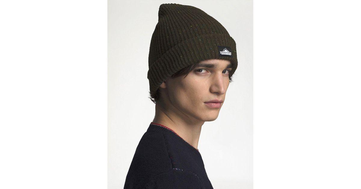 56ca527c13c Lyst - Penfield Harris Beanie Hat in Green for Men