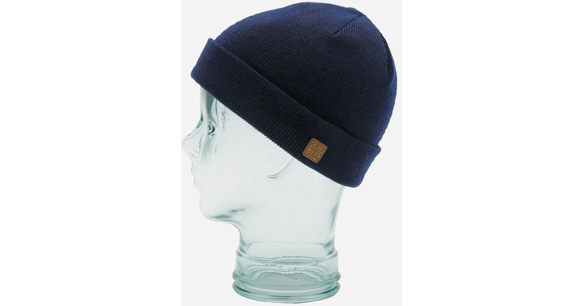 beefa1fc8ce76f Coal Harbor Cuffed Beanie Hat in Blue for Men - Lyst