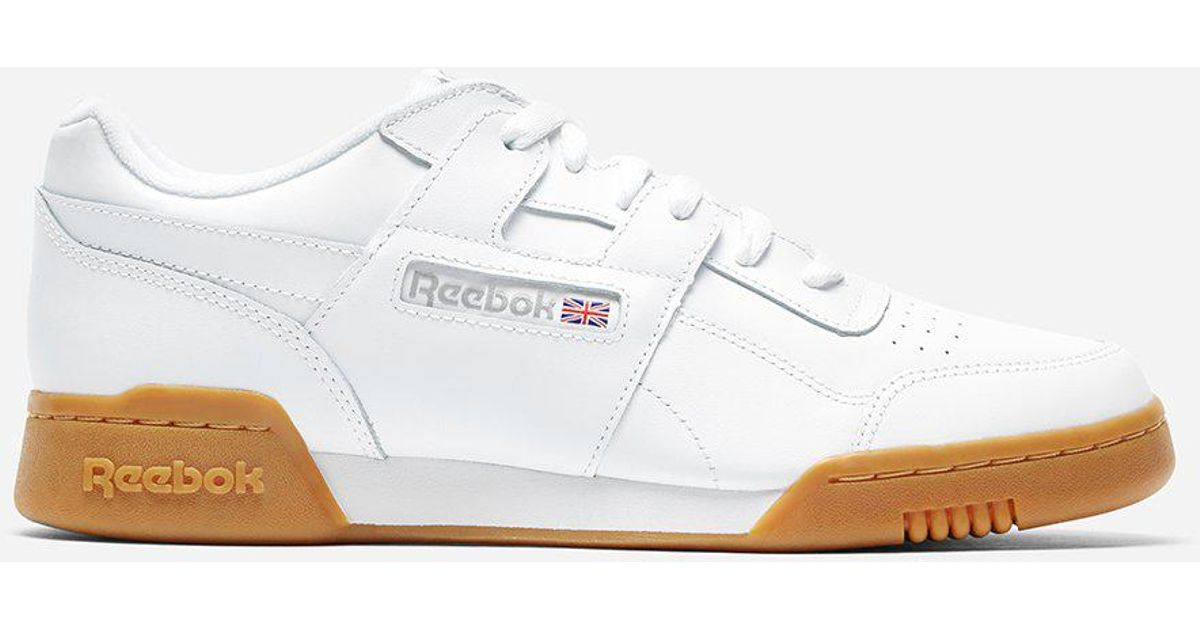 5b3f410bd1f Lyst - Reebok Classics Workout Plus in White for Men - Save 50%
