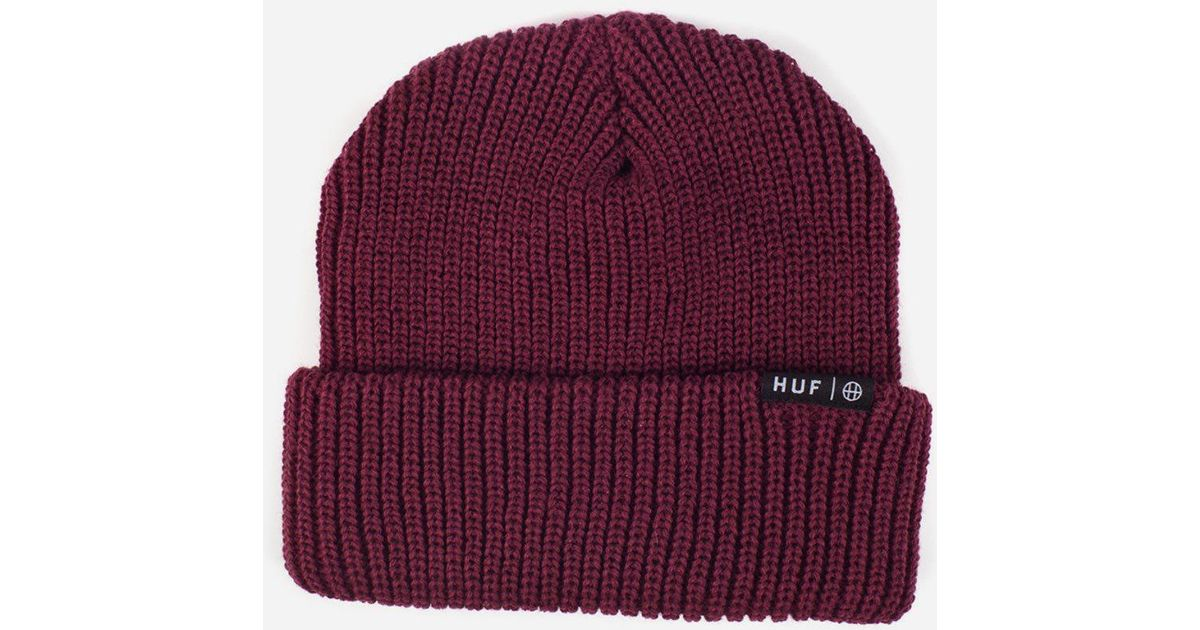 2f8053bd6d8e7 Huf - Purple Usual Beanie Hat for Men - Lyst