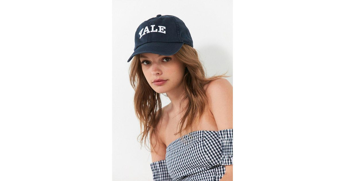 968d818c038bf Urban Outfitters Yale Crew Baseball Hat in Blue - Lyst