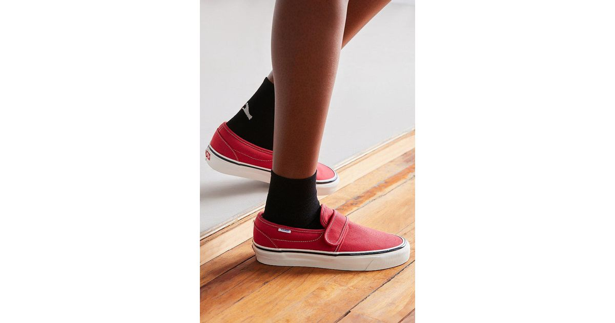 Vans Vans Anaheim Factory 47 V Dx Slip-on Sneaker in Red - Lyst 4858205db
