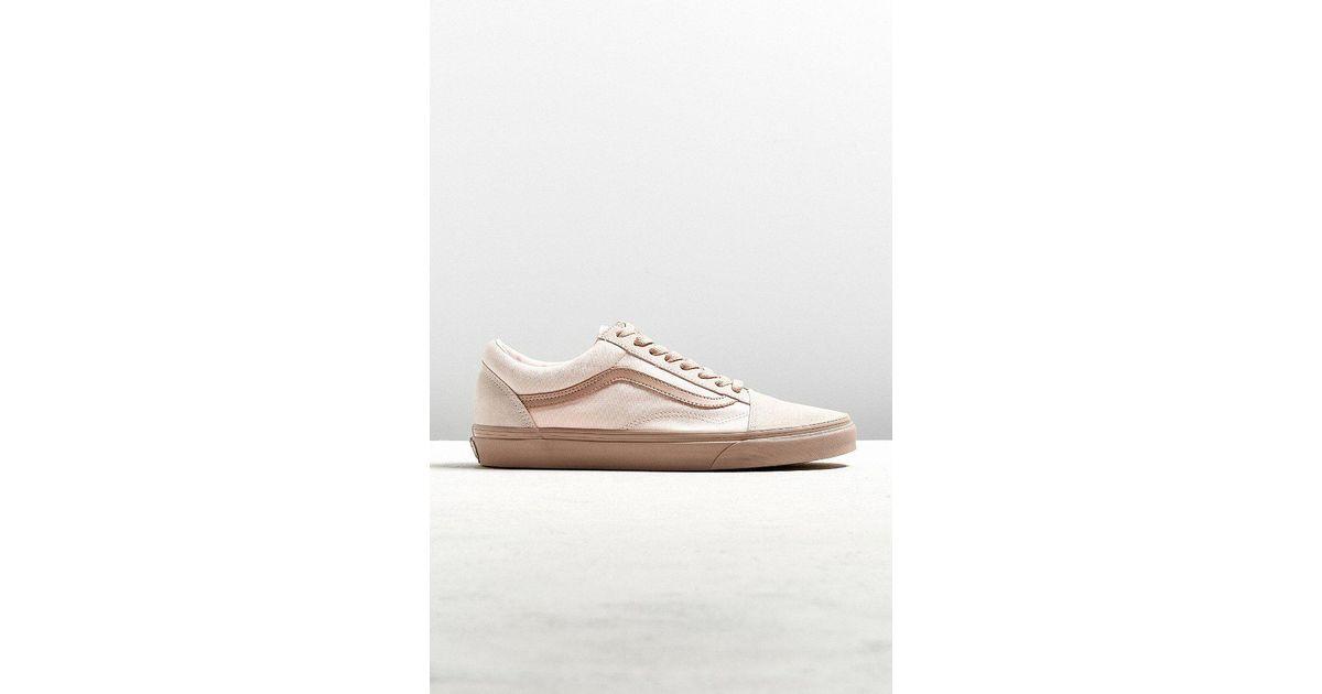 3ec14d9c45 Lyst - Vans Vans Old Skool Mono Pearl Mahogany Sneaker in Pink for Men