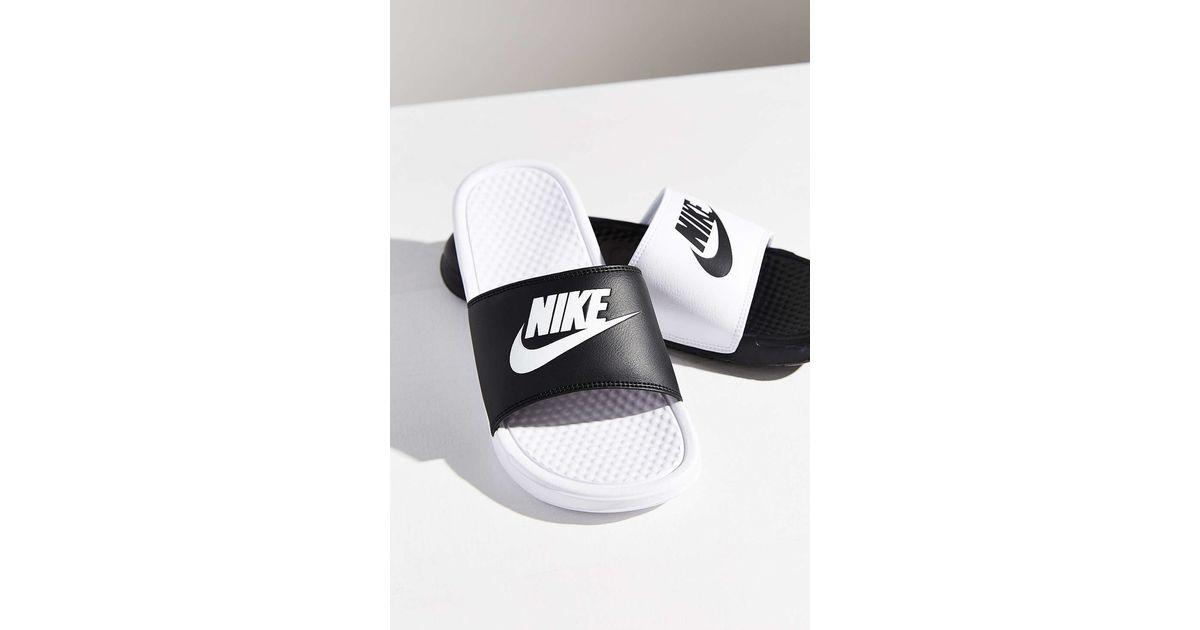 e3018e34e99bc8 Lyst - Nike Benassi Jdi Mismatch Slide in Black