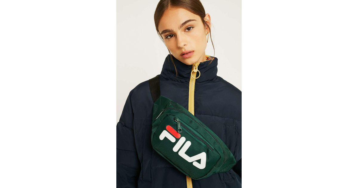 43755c8847 Fila Adams Bum Bag - Womens All in Green - Lyst