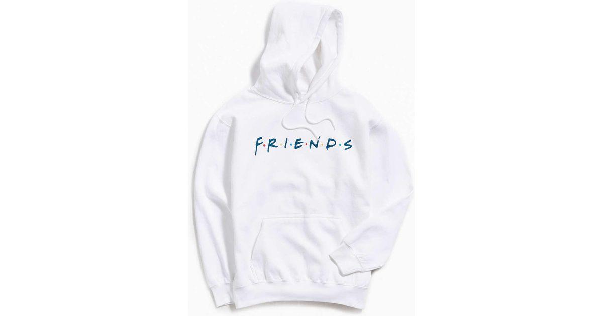 b909450949 Lyst - Urban Outfitters Friends Hoodie Sweatshirt in White for Men