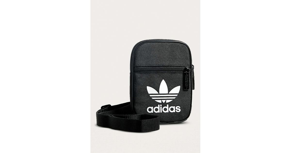 ... Duffel Bags, + Wallets Urban Outfitters lace up in 9ffd9 38eb7  Adidas  Originals Trefoil Festival Crossbody in Black - Lyst factory price 11bd4  c6cd1 ... b0a9136fe9
