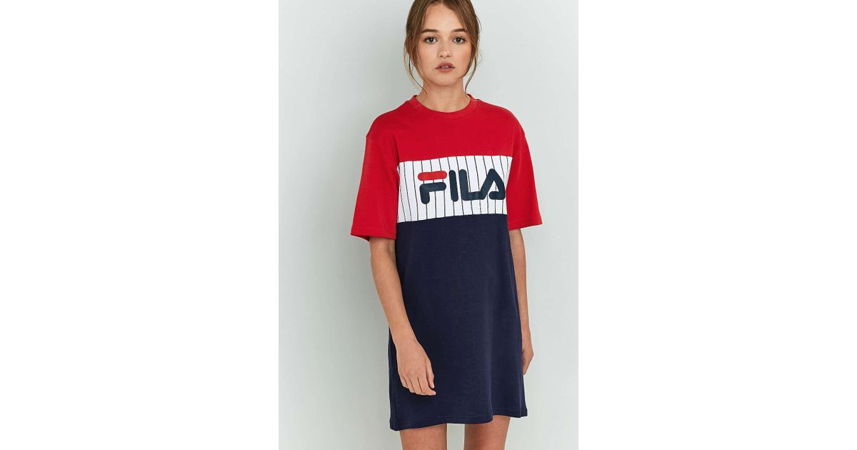 latest style of 2019 kid how to purchase Fila Multicolor Ruby T-shirt Dress