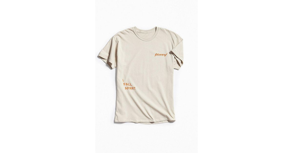 91823a8f Urban Outfitters Post Malone I Fall Apart Tee in Orange for Men - Lyst