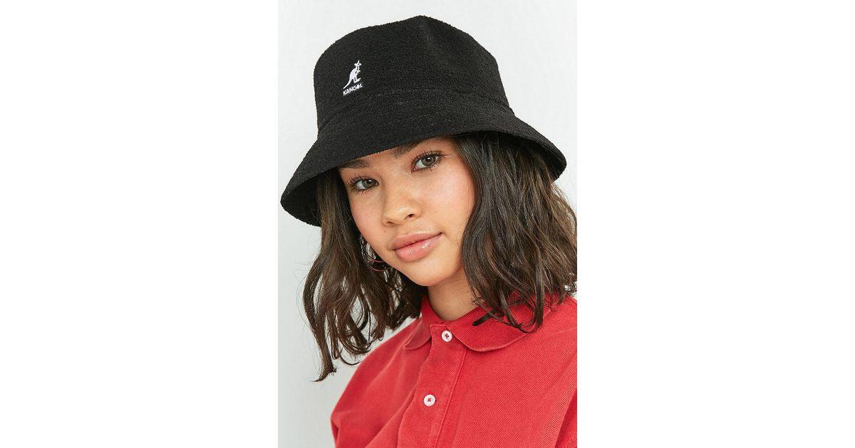 5a0d25e4d5 Kangol Bermuda Bucket Hat in Black - Lyst