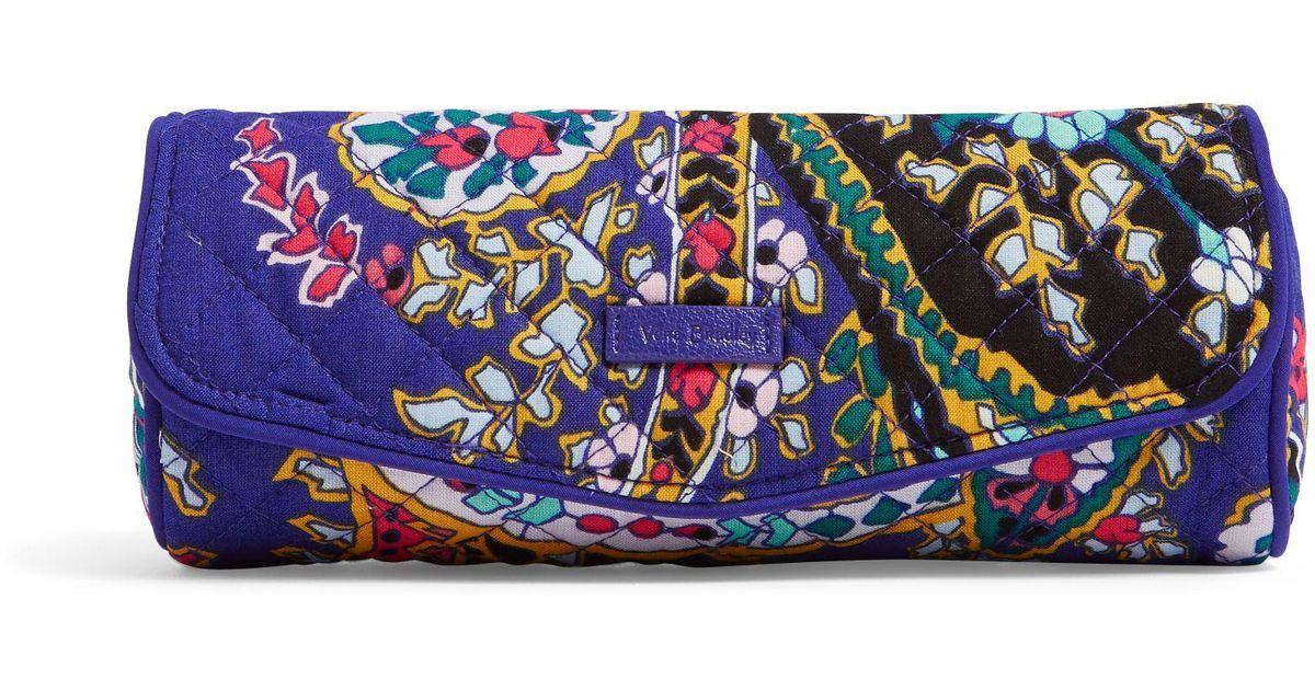 Lyst - Vera Bradley Iconic On A Roll Case in Blue 0adbcb364f587