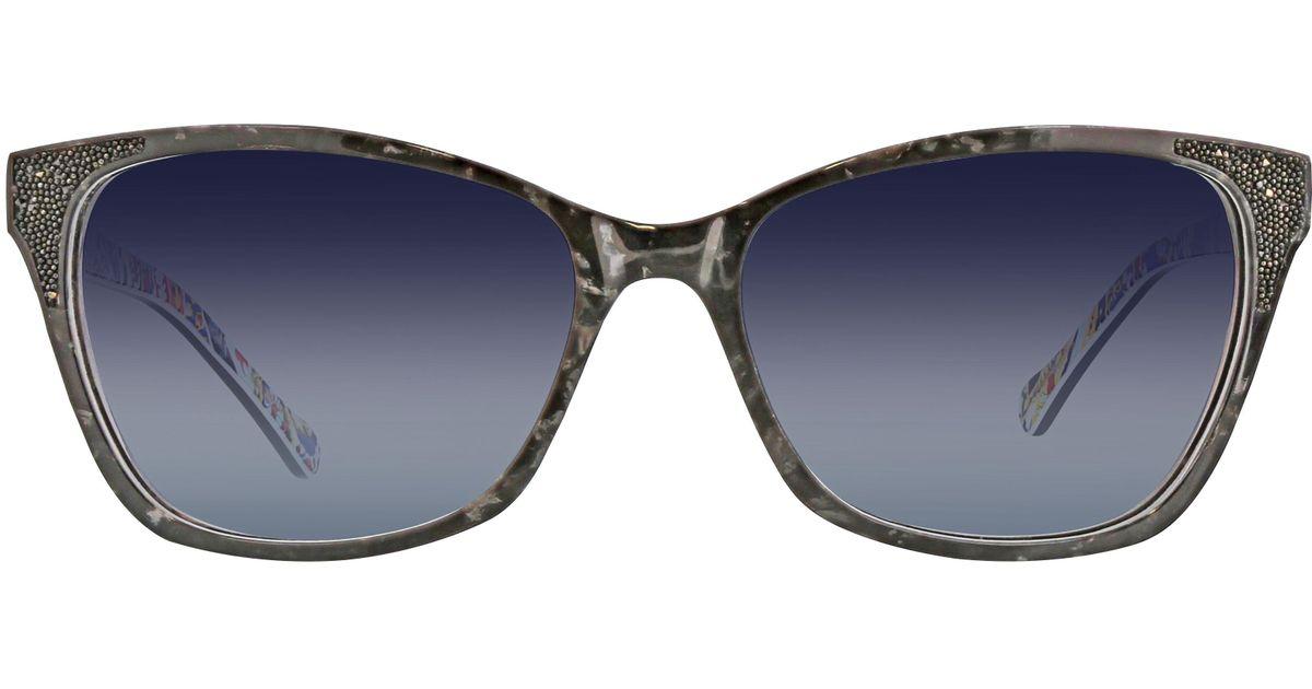 605ca5358a Lyst - Vera Bradley Helena Polarized Cat-eye Sunglasses