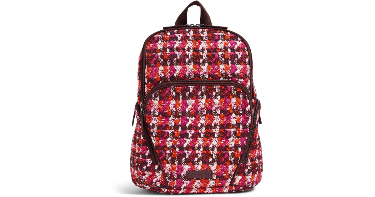 d1dae6fb5 Vera Bradley Hadley Backpack in Red - Lyst