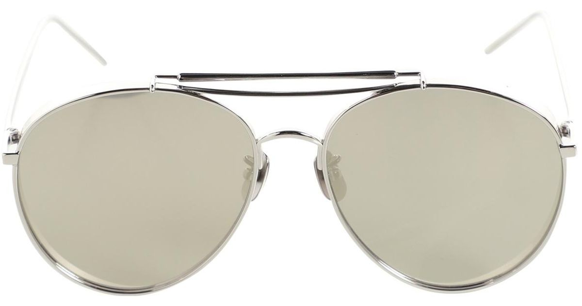e6f6790a4ce2 Gentle Monster Pre-owned Silver Metal Sunglasses in Metallic - Lyst