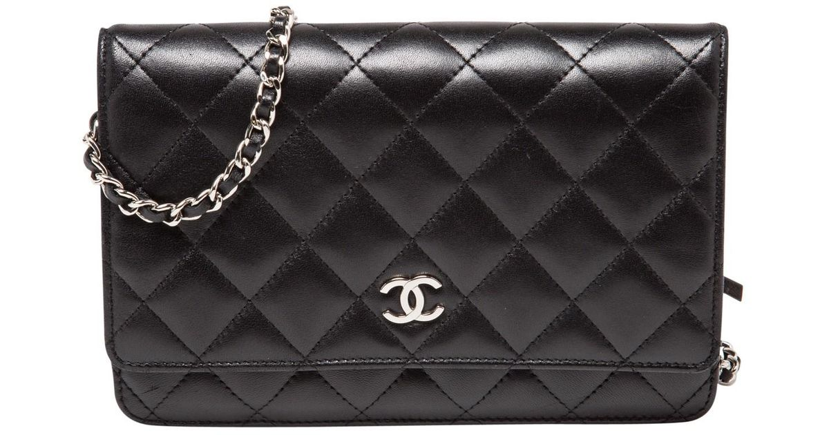Chanel Pre-owned - Wallet on Chain leather bag SOqirHQHs