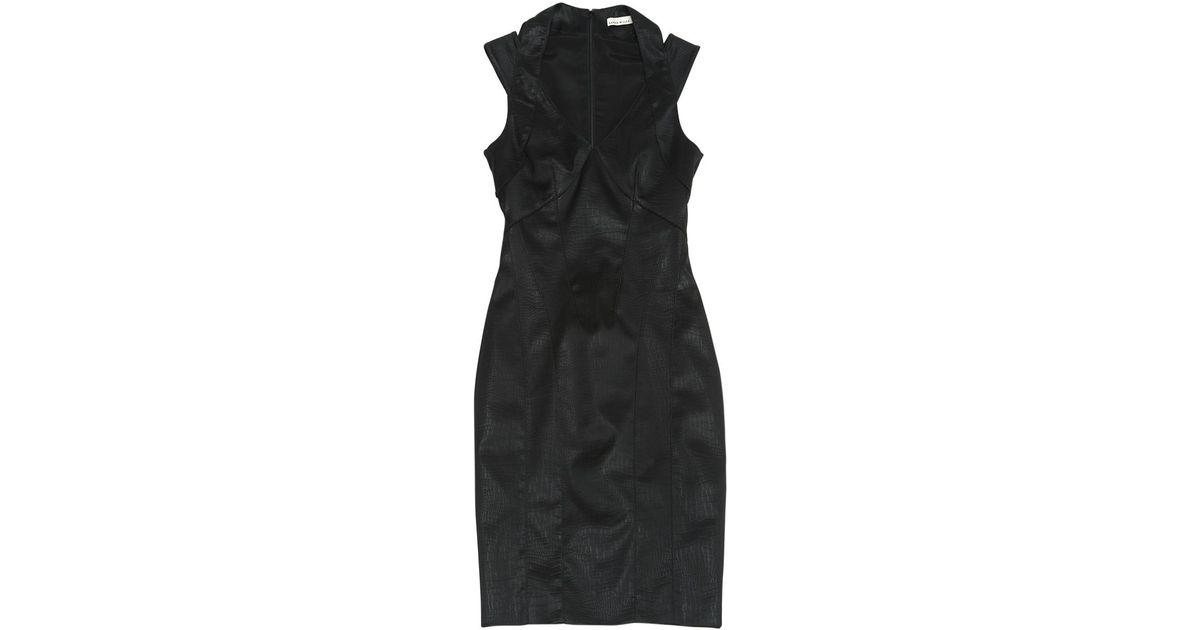 345d4bad33 Lyst - Karen Millen Mid-length Dress in Black