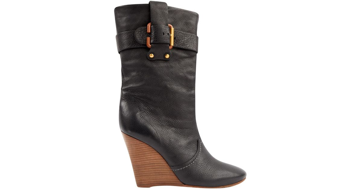 Cheap Price Low Shipping Fee Pre-owned - LEATHER BOOTS Chlo Outlet Good Selling d3LQ1