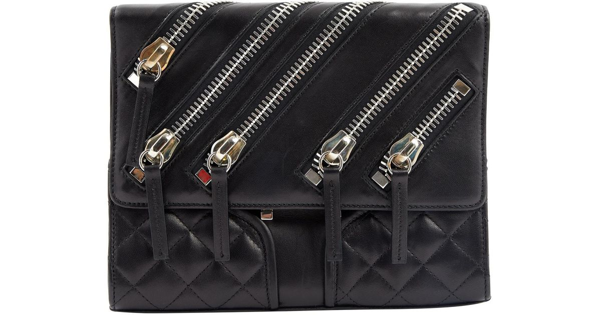 Giuseppe Zanotti Pre-owned - Leather crossbody bag WGAgYbs2V