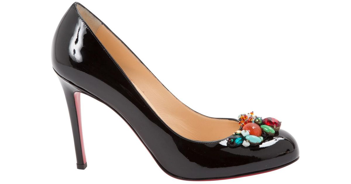 Pre-owned - Patent leather heels Christian Louboutin pyNNY0Q