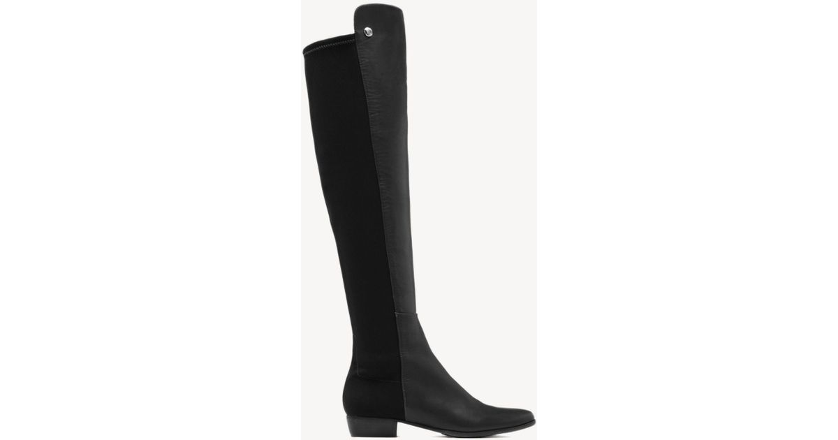 67eb4d1a51c Vince Camuto - Black Karita – Neoprene & Leather Boot - Lyst