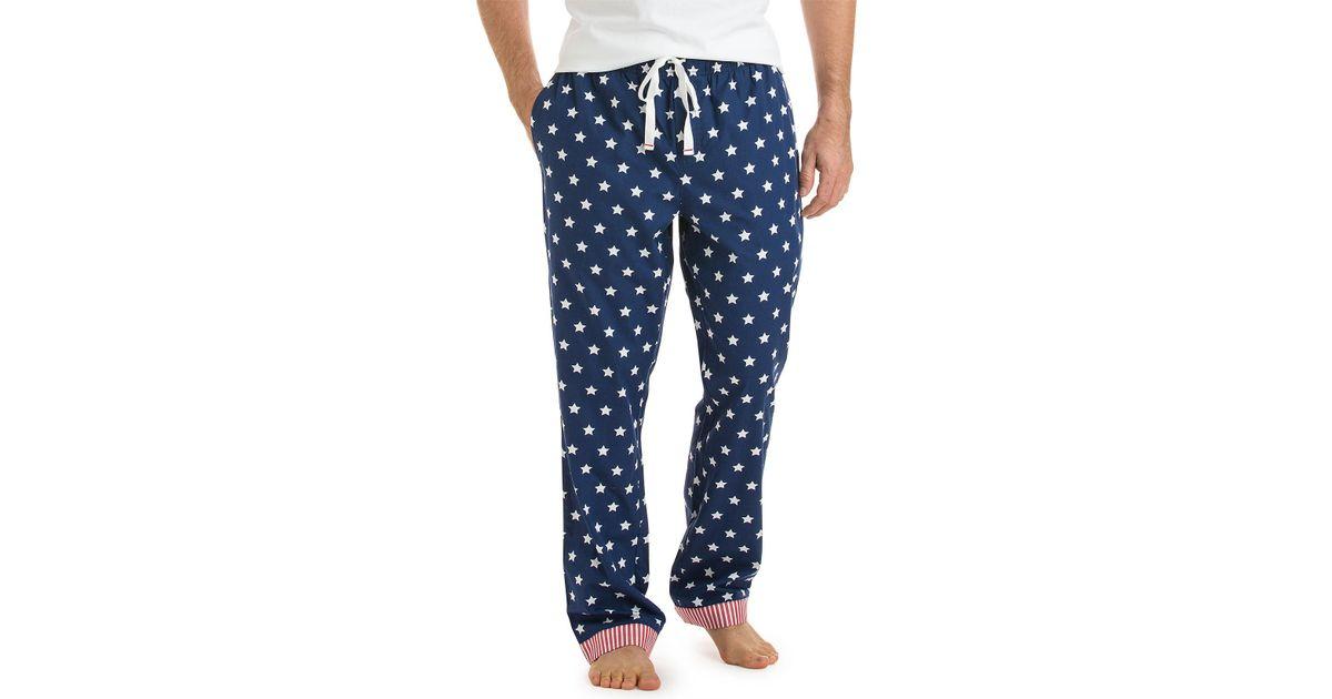 Lyst - Vineyard Vines Stars   Stripes Lounge Pants in Blue for Men 9175457aa