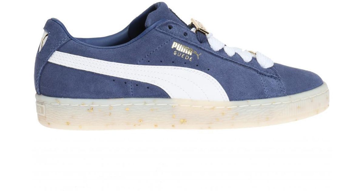 Lyst - PUMA  suede Classic B-boy Fabulous  Sneakers in Blue 8d5b44c5e