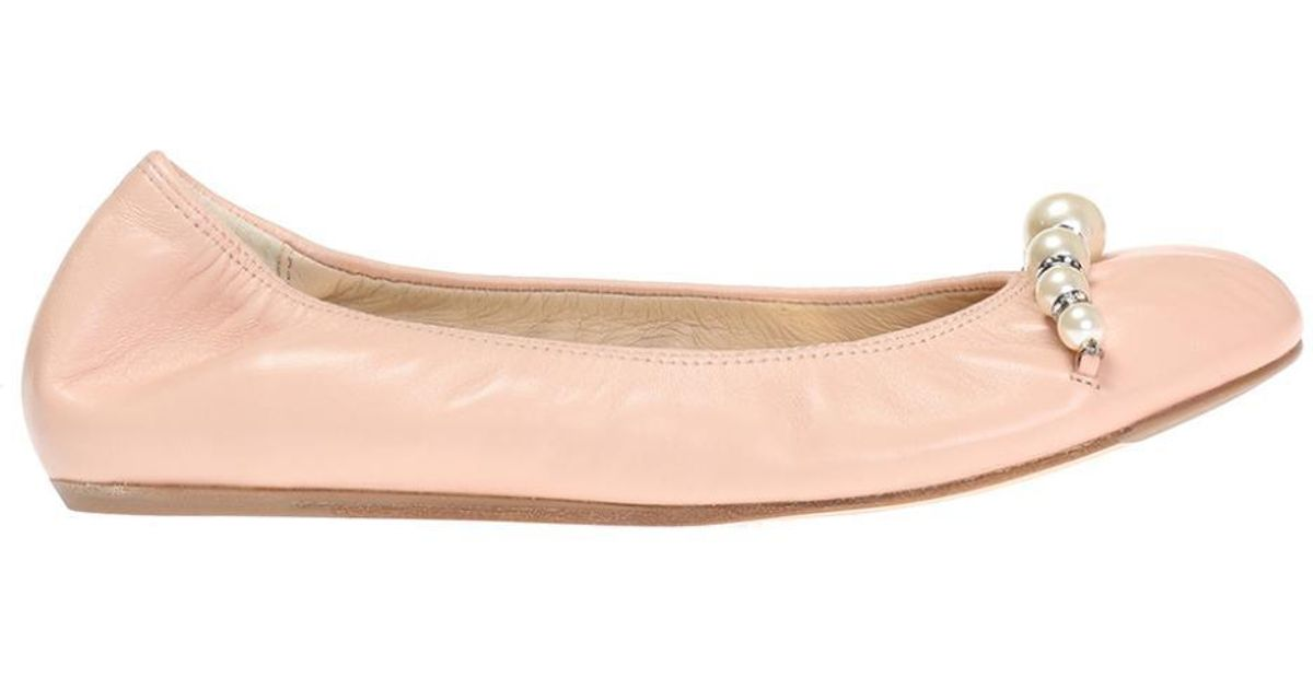 Lanvin Embellished Ballet Flats discount top quality store for sale 2014 new online 3Y4gpV