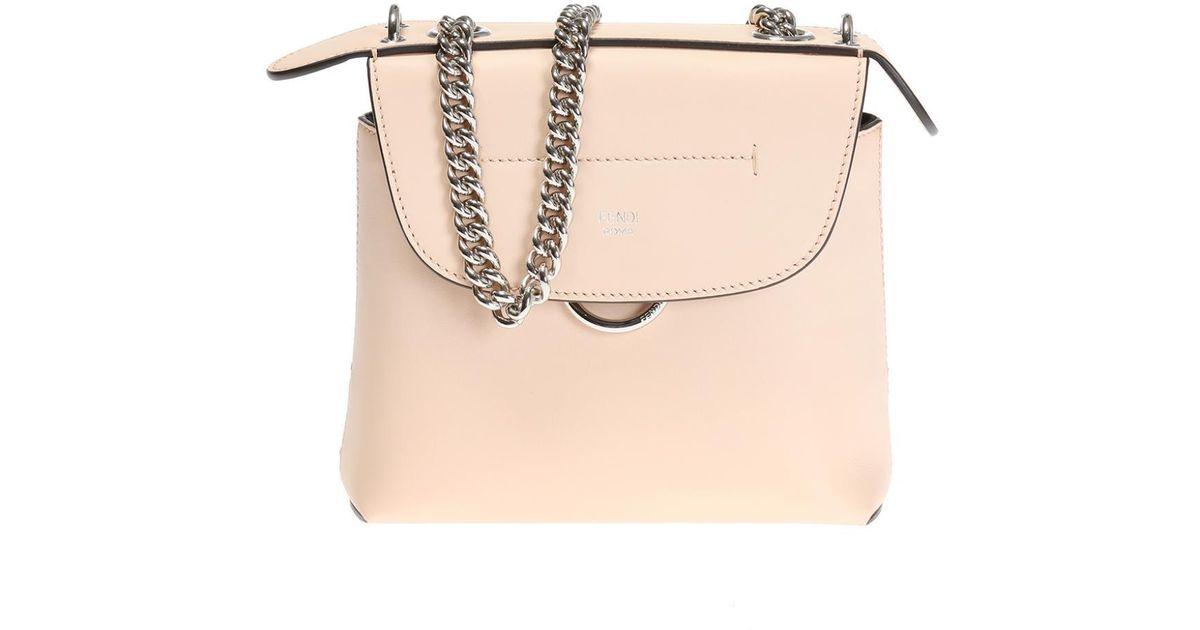 0fee82a9dd Lyst - Fendi  back To School  Shoulder Bag