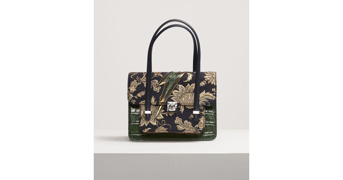 b622893abb05 Vivienne Westwood Elizabeth Small Handbag in Green - Lyst