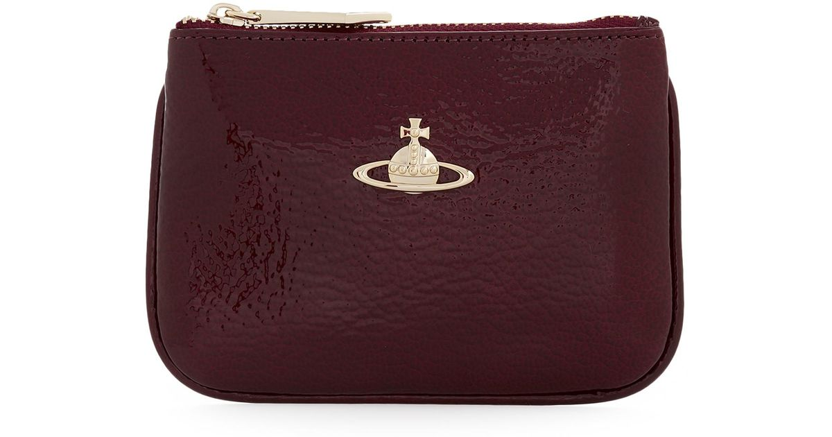 beb7cb5bffe Vivienne Westwood Margate Wallet With Coin Pocket 51010007 Bordeaux in  Purple - Lyst