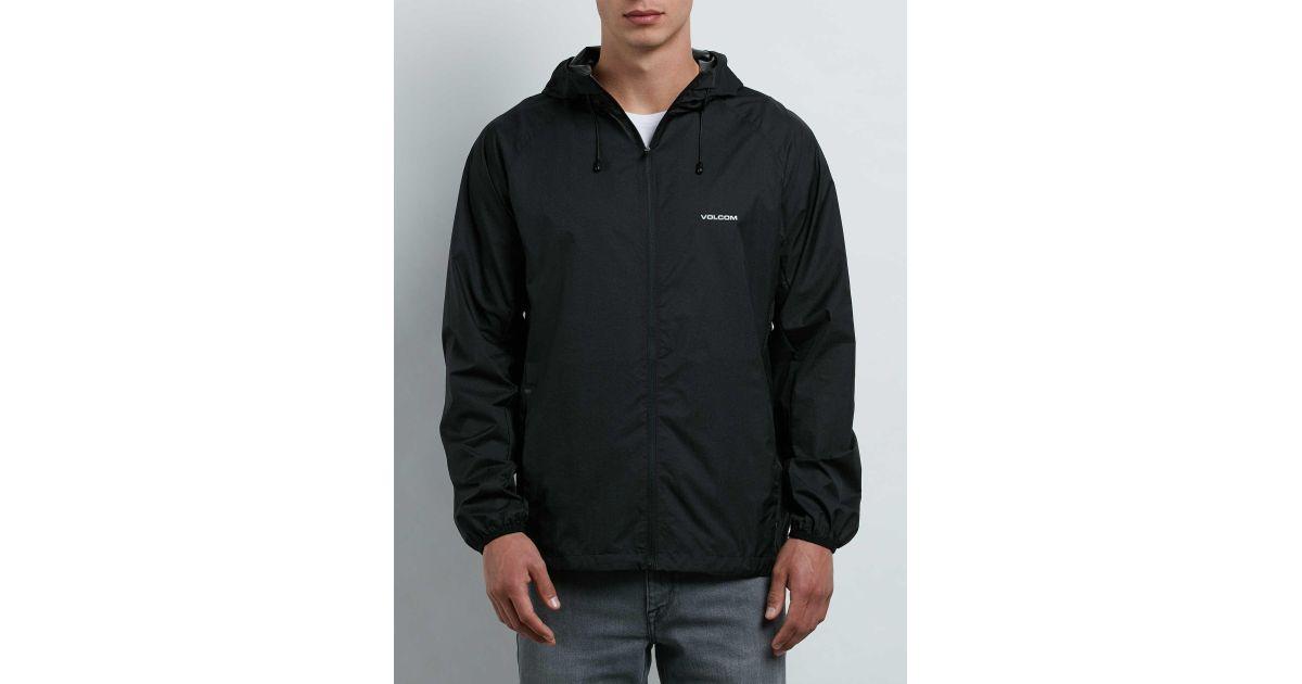 Stone Jacket Volcom Black Lite M pZfwqCF