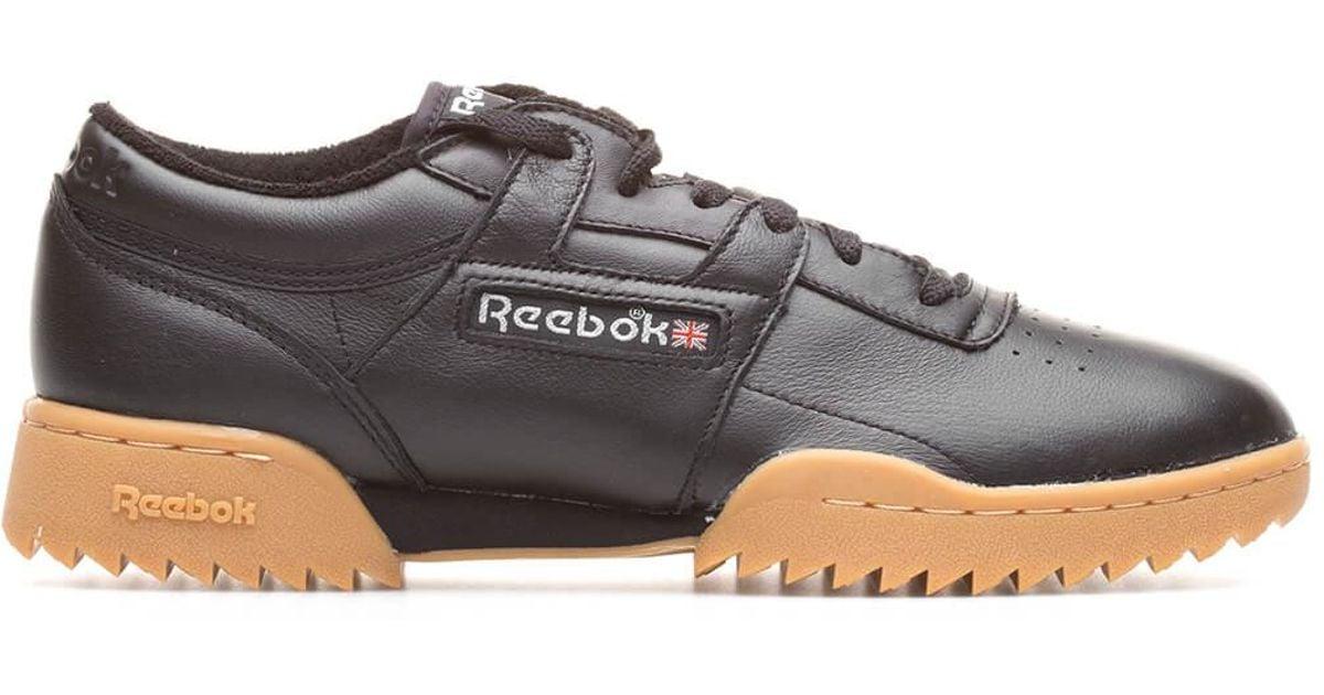 164f860d41f Reebok Workout Clean Ripple Vintage in Black for Men - Lyst