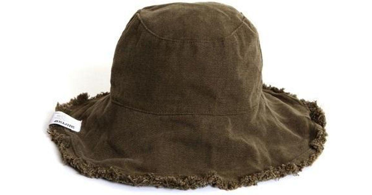 7ef6e01f80c Lyst - SLEEPYSLIP  unisex  Reversible Khaki Bucket Hat in Natural