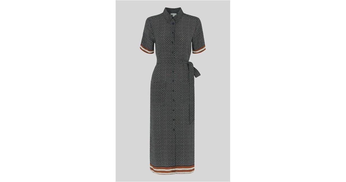 d940c43a42a Whistles Foulard Montana Ss Dress - Save 20% - Lyst
