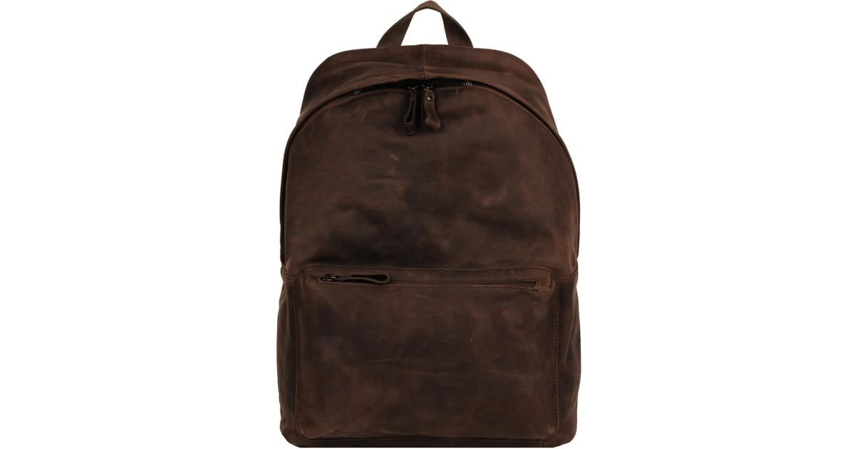 b6b68de35dbe Wilsons Leather - Brown Logan Genuine Leather Backpack for Men - Lyst