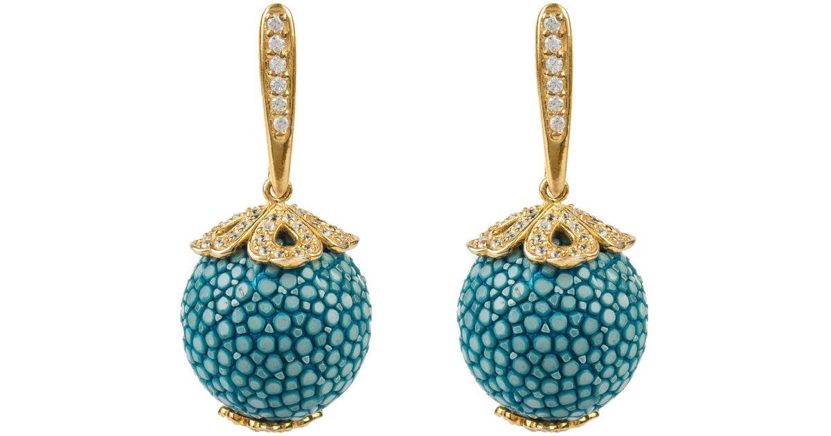 Latelita London Stingray Ball Earring Ocean 27raGjRrZ