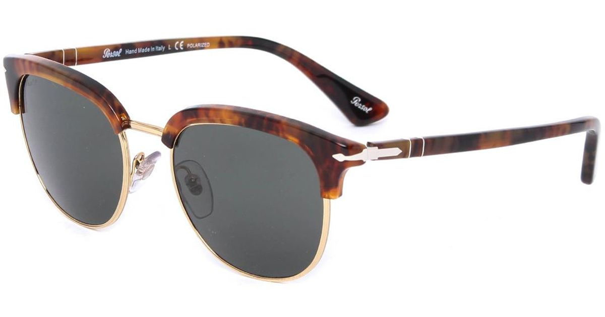 aee266a52a305 Lyst - Persol Cellor Originals Caffe Clubmaster Sunglasses