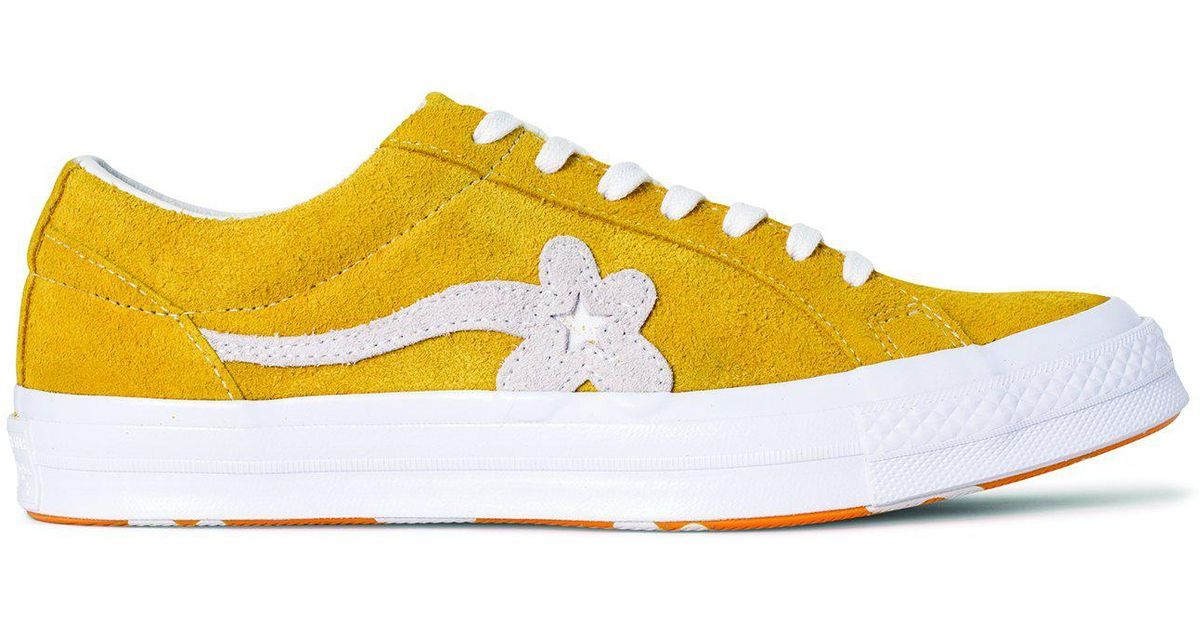 22ee02df24e805 Lyst - Converse One Star X Golf Le Fleur in Yellow for Men