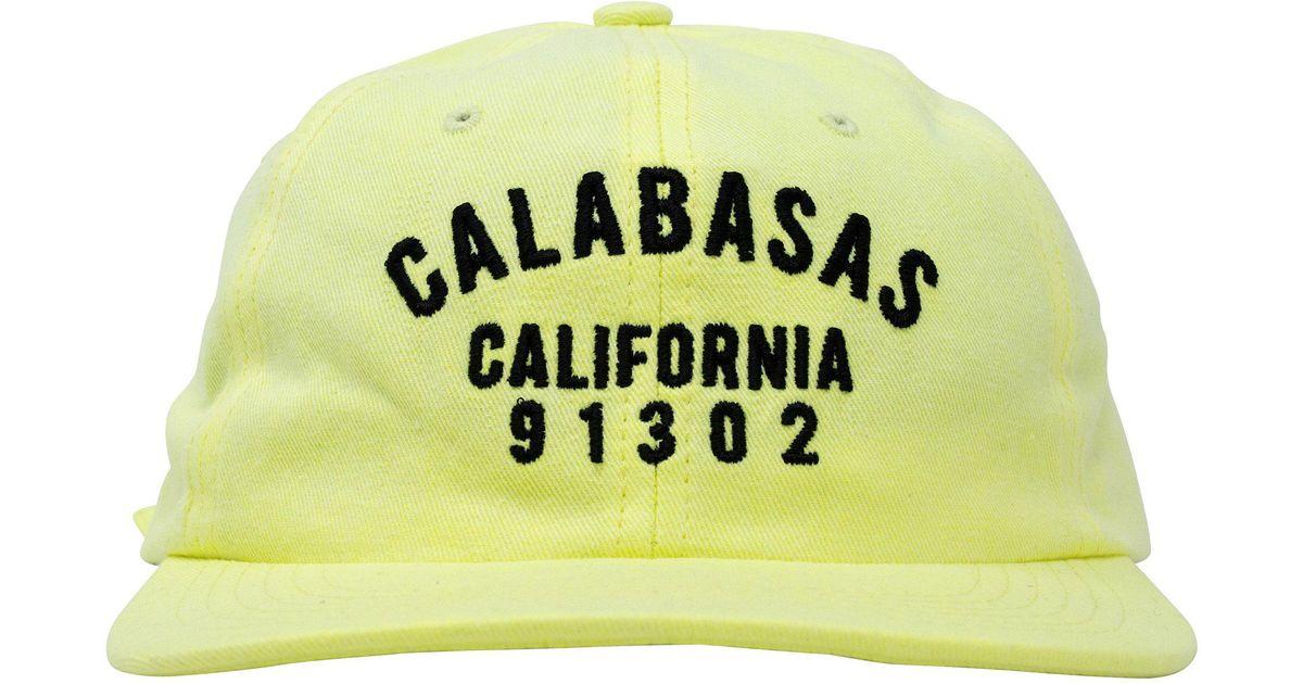 super popular 3b144 b2491 Yeezy  calabasas California  Hat in Green for Men - Lyst