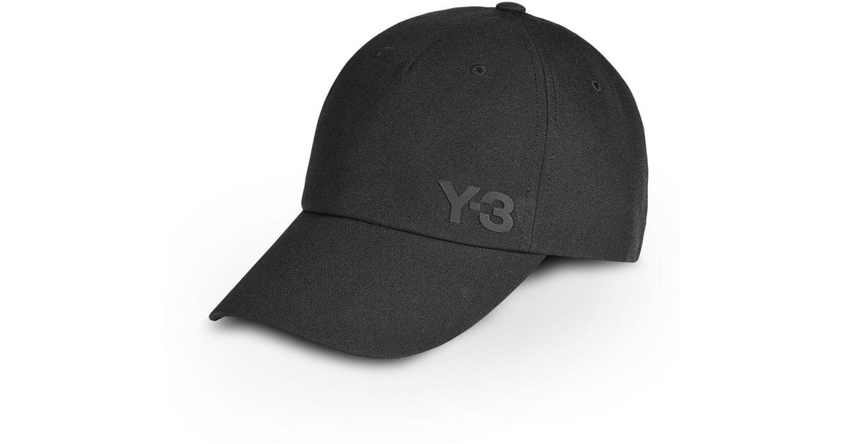 9a56020cd5b Lyst - Y-3 Lux Cap in Black for Men