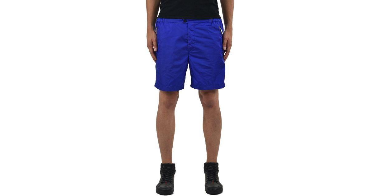 789d0216d4c DSquared² - Blue 2 Waterproof Shorts for Men - Lyst